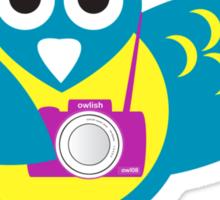 snap happy T-shirt  Sticker