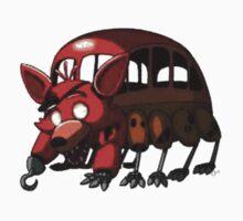 Foxy FNAF Bus by dylanaguirre