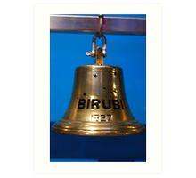 Ships Bell - Birubi 1927 Art Print