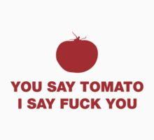 yOU say tomato - red