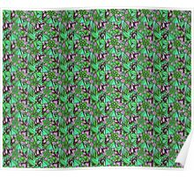 Pattern Flower [Green] Poster