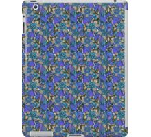 Pattern Flower [Blue] iPad Case/Skin