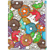 Colourful & Delicious Iced Donuts iPad Case/Skin