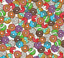 Colourful & Delicious Iced Donuts by Rachel  Weaver