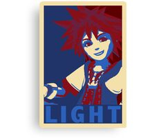 LIGHT - Sora, Kingdom Hearts Canvas Print
