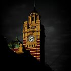 Flinders Clock Tower by Andrew Wilson