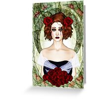 Wallflower Greeting Card