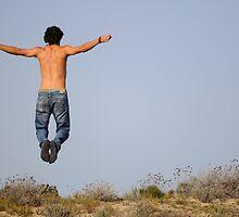 wild man jumping by lochef