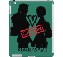 Official Korrasami CANON stamp iPad Case/Skin