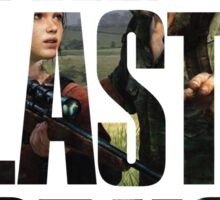 Tlou (collage 2) Sticker