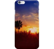 STUNNING UFO SUNSET iPhone Case/Skin