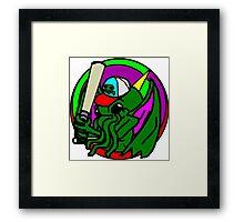 The R'lyeh Dreadlords Baseball Tee Framed Print