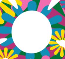 Funky Flower Sticker