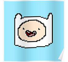 Pixel Finn Poster