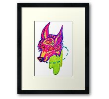 donut lose your head Framed Print
