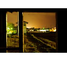 Once There Were Trains Photographic Print