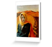 Tea In The Sahara Greeting Card