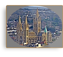 Where I Live The City of Truro. Metal Print