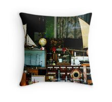 """""""Window of Collectables"""" Throw Pillow"""