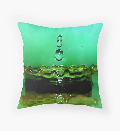 Vintage Splash Throw Pillow