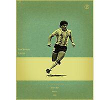 Maradona Photographic Print