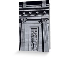 Lancaster, Church Street Facade Greeting Card