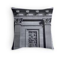Lancaster, Church Street Facade Throw Pillow