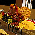 Fruit and Cheese Platter Time  by Jane Neill-Hancock