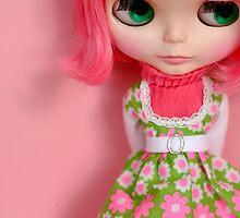 Fluor Pink Blythe by Renata Motta
