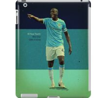 Toure iPad Case/Skin