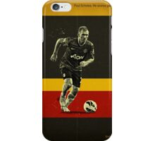 Scholes iPhone Case/Skin