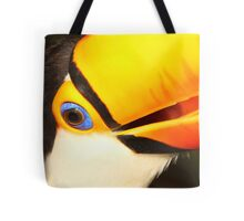 Detailed Portrait of a Toco Toucan at Iguassu, Brazil.  Tote Bag