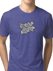 Design 001s1 - by Kit Clock Tri-blend T-Shirt