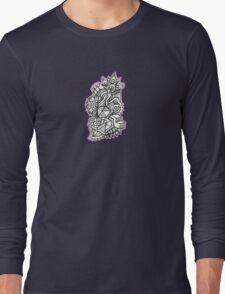 Design 002s1 - by Kit Clock Long Sleeve T-Shirt