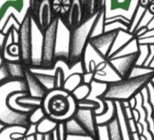 Design 004s1 - by Kit Clock Sticker