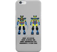 Weapon rX-74 iPhone Case/Skin