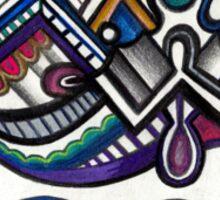 Design 005s1 - by Kit Clock Sticker