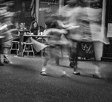 Urban motion 1 by Vicki Moritz