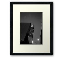 chrysler bulding Framed Print