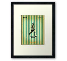 Messi Framed Print
