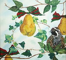 Partridge in a Pear Tree by REINA.L. RESTO