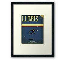 Lloris Framed Print