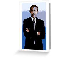Barack_Obama Greeting Card
