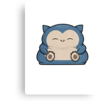 Mini Collection - Snorlax Canvas Print