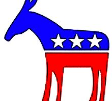 Democratic Donkey by ShopBarack