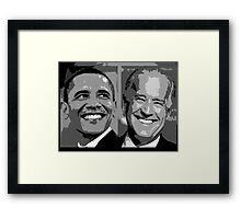 Obama Biden Framed Print