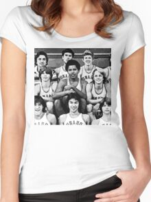 Obama Basketball  Women's Fitted Scoop T-Shirt