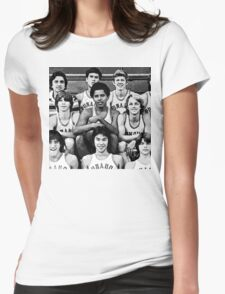 Obama Basketball  Womens Fitted T-Shirt