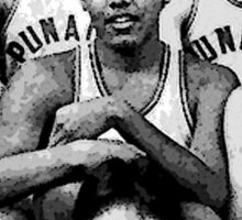 Obama Basketball  Sticker