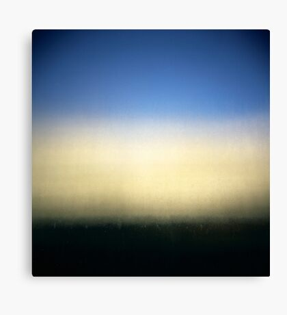 the imperfect gradient Canvas Print